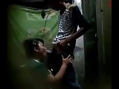 18 Year Indian Teen Boy Getting Blowjob From Mature Aunty